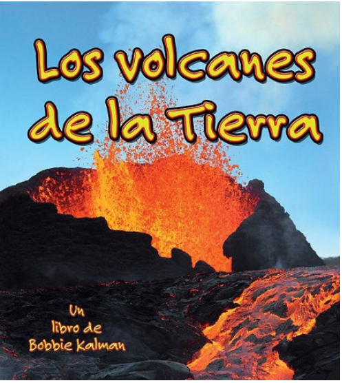 Los mejores libros de volcanes para niños